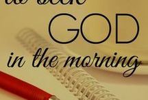10 ways to seek God in the morning.