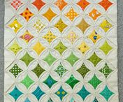 Cathedral Windows Quilt / Styles of Cathedral Windows quilt patterns