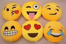 emoji polštáře :3