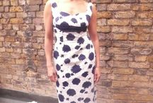 Fancy Frock - tastic Shoot! / Ooh la new photo shoot on our roof terrace windy and rainy but a great day!!!