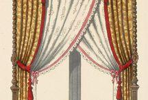 Текстильный дизайн. Эскизы штор
