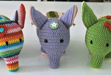 Crochet animals/toys / by Tammy- Ambrosia's Attic