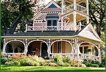 Victorian Houses / Beautiful victorian houses. Especially the ones in the Hudson Valley New York.