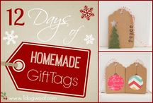 DIY Gift Tag / A great gift deserves a homemade gift tag