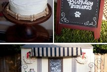 Dog Party Ideas / Decorations