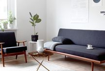 Interior - Simple Space / Simple box rooms with rectangular windows.