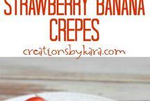 Breakfast Recipes / Find an assortment of yummy breakfast recipes.