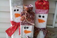 Karácsony, téli dekorációk