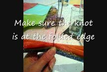 Tissue paper / Crafts and activities using tissue paper. Children's projects. Rainy day ideas. Festive decorations.