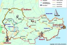 Route in Holland