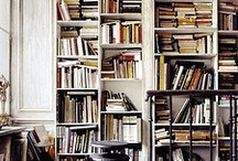 Book shelves for LOTS of books