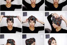 Turban cheveux