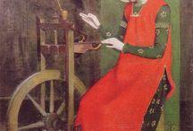 Il filato nell'arte e nella storia