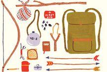 outdoor camping and traveling / utendørsliv og backpack traveling