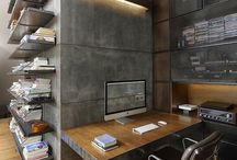 Desk design ideas / Study and working spaces