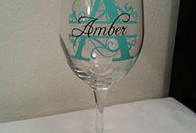 wine glasses ideas