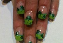 St. Patrick's Day Nails / The Very Best St. Patrick's Day Nails! St. Patrick's Day Nails Art, Inspiration and DIY!