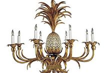 Hollywood regency -pineapples / Pineapple Things