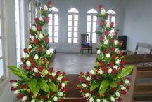 dekoracje kościół