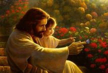 Christ and Children / I love pictures of Christ with little children!!!