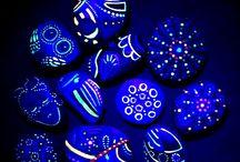 Black Light Art / Black Light Art UV  Glow in the Dark