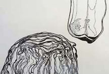Drawing with different medians / Art 2nd year