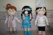 bonecas profissoes
