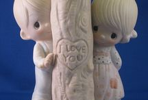 Precious Moments, Hummell, and other nice figurines. / by Diana Hensley