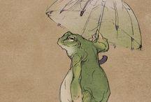 Frog illustration inspiration