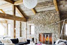 textured walls..
