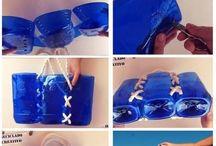 creare con le bottiglie