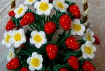flori crosetate / flori crosetate