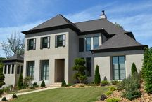 SouthPark Modern / This modern style home has custom features with warm contemporary design by Scott Carpenter.