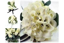 Sam's Club Floral Collections / 17 piece pre-arranged wedding collections range from $313 - $689 and include Bridal Bouquet, Toss-Away Bouquet, 4 Bridesmaid Bouquets, 6 Boutonnieres, 4 Corsages, and 1 Box of petals.   Larger collections may include centerpieces.