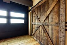 Reclaimed Doors / Sliding barn doors are our speciality