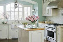 Rustic Country Kitchen / Different ideas from Pinterest & around the web for rustic style and barn wood country kitchen designs.