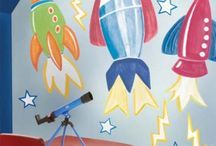 Children's Wall Mural Ideas