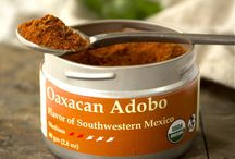 TTS Co. - Oaxacan Adobo / Oaxacan Adobo is a traditional chili based Mexican seasoning, fantastic as a dry spice rub or as a general spice blend.  It truly shines when combined with a bit of citrus juice or vinegar to make a marinade.  The flavor is a round and deep earthiness with moderate chili heat and fruitiness that will bring diners back for more.