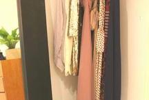 Hanging without closet