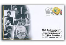The Beatles / The Beatles collectables stamp covers