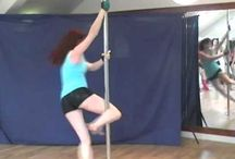 PDY - Passè spin / Pole dance move: PASSE' SPIN