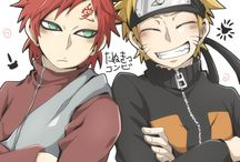 Gaara and Naruto