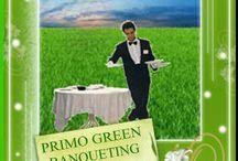 """Green Catering & Banqueting By Party Round Green and Partners / Call. Danilo +39 335 6815268 Www.partyround.it Party Round Green: """"The good taste of green"""" """"Il Buon Gusto del Green"""" perché infatti:  - usa materie prime di qualità a Km 0  - utilizza in gran parte prodotti bio  - usa anche stoviglie biodegradabili  - impiega solo detergenti ecologici  - effettua la raccolta differenziata dei rifiuti in loco - circola  con veicoli di trasporto non inquinanti Euro 5-6  Il catering """"verde"""" è altamente innovativo ed è socio-compatibile ed eco-sostenibile."""