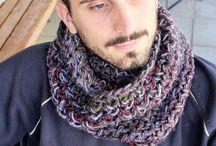 MariliartbyM handmade #mensaccessories / #mensaccessories #crochetscarves