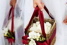 Wedding in red / Idee e ispirazioni per un matrimonio in rosso.