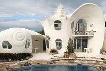 Unique Homes / From houses shaped like shells to converted barns,  shipping containers and tipis, why stay in a run of the mill location when you could stay in one of these unique vacation homes! Located all over the world they'll give you a one of a kind family vacation you'll never forget!