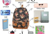 Back to school / All you need for school