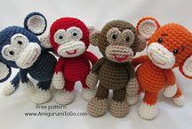 babies crochet toys