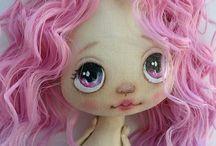 Rosto bonecas de pani