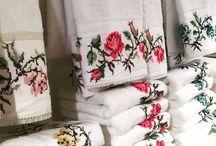 Dantell Atelier / www.dantell.com towel handmade dantell accessories napkinring napkinrings emboridery soap sabun havlu designed towels homedecor hometextile napkin
